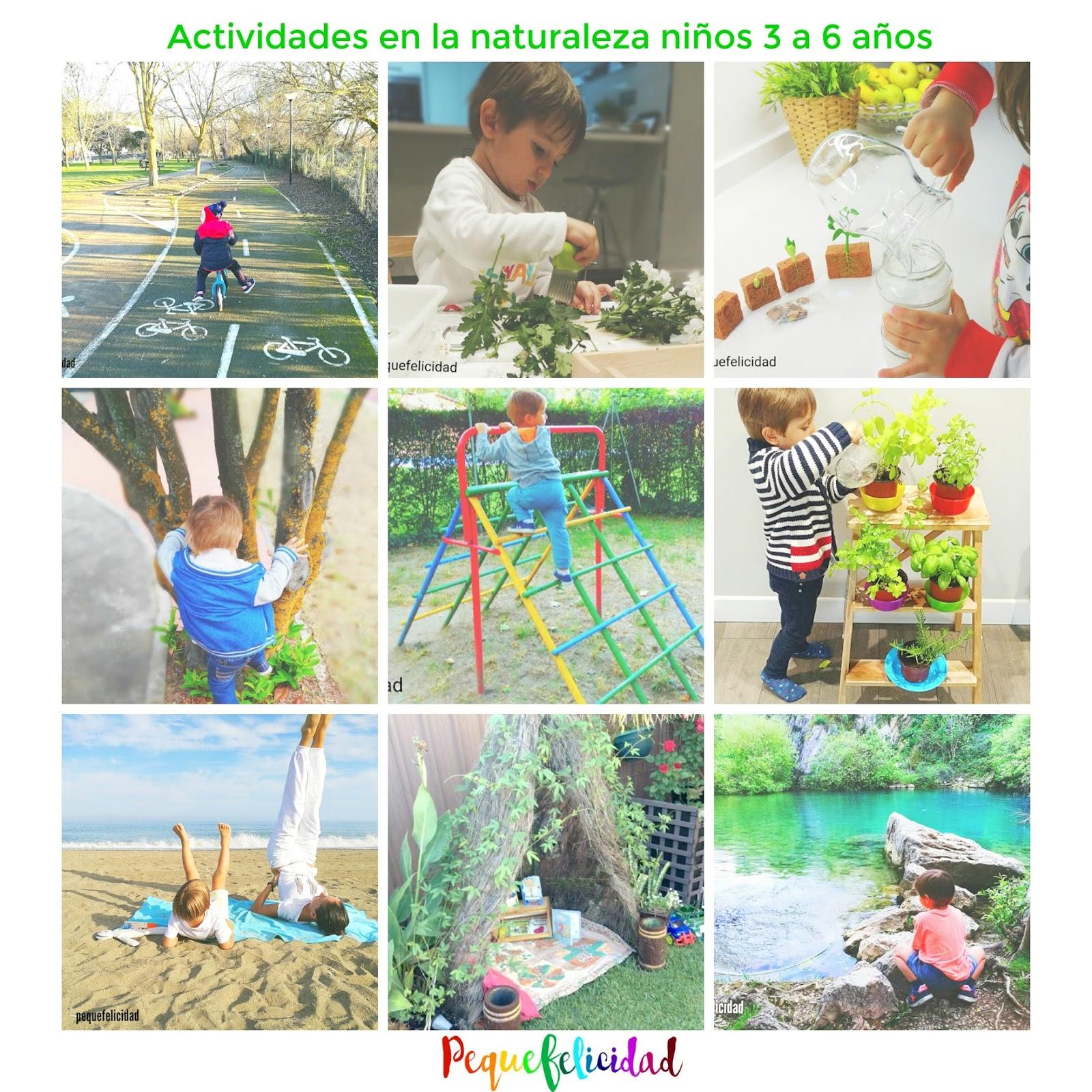 PEQUEfelicidad: 100 ACTIVIDADES EN LA NATURALEZA PARA NIÑOS ...