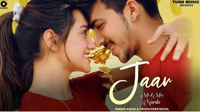 Jaan Song Lyrics-Param Sidhu