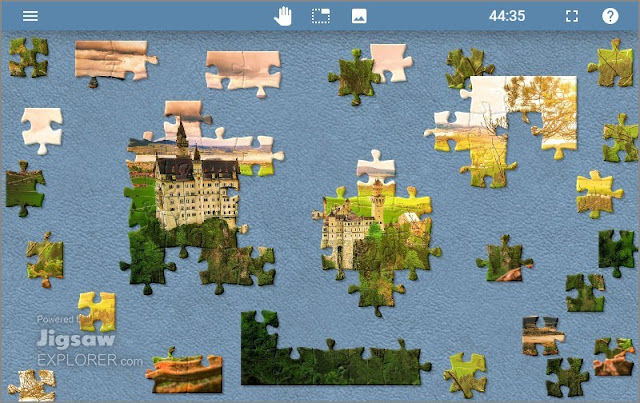 Jigsaw Explorer Defeats Home Isolation with Multiplayer Jigsaw Puzzles