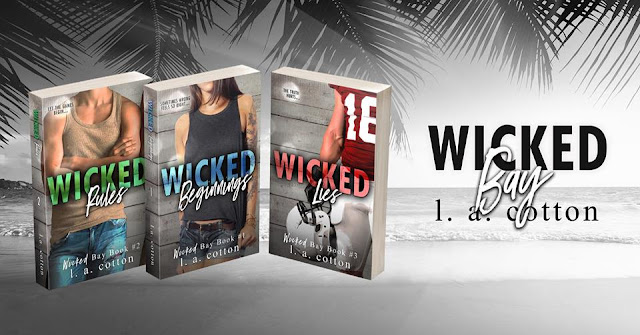 [Excerpt Reveal] WICKED LIES by LA Cotton @authorlacotton #Excerpt #Giveaway #TheUnratedBookshelf