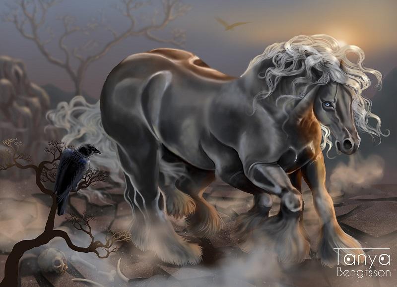Sleipnir o Cavalo de Oito Patas de Odin - Significado e Origens