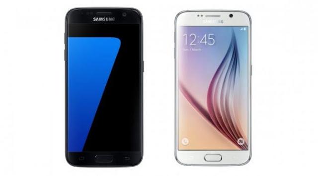 Perbedaan Spesifikasi Samsung Galaxy S7 Dengan S6