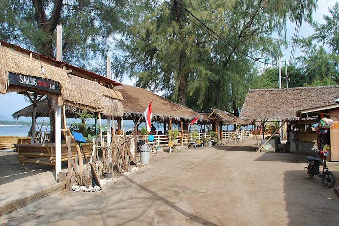 Restaurantes junto al mar