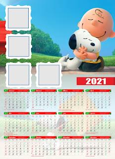 Template Kalender Dinding 2021 Free CDR