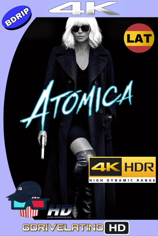 Atómica (2017) BDRip 4K HDR (Latino-Inglés) MKV