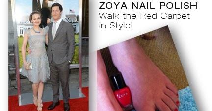 Joanna Newsom Walks The Red Carpet With Zoya Myrta Zoya Nail
