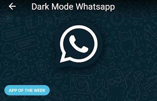 Cara Membuat Whatsapp Menjadi Dark Mode