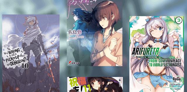 7 Rekomendasi Light Novel Anime Terbaik Untuk Kamu Baca