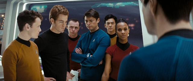 Echipajul navei USS Enterprise