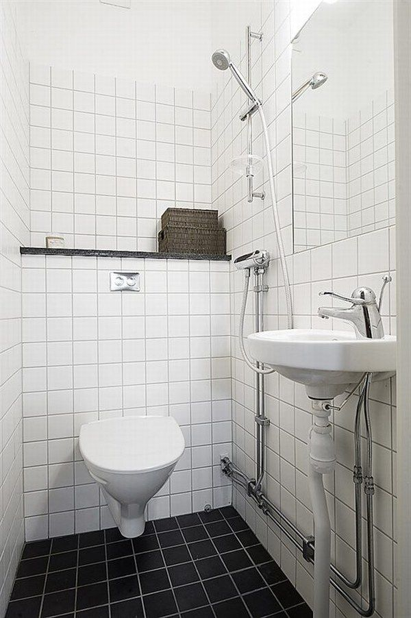 INTERIOR DESIGN BATHROOM FOR A SMALL APARTMENT