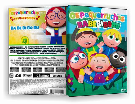DVD Os Pequerruchos Babebibobu 2019 - ISO