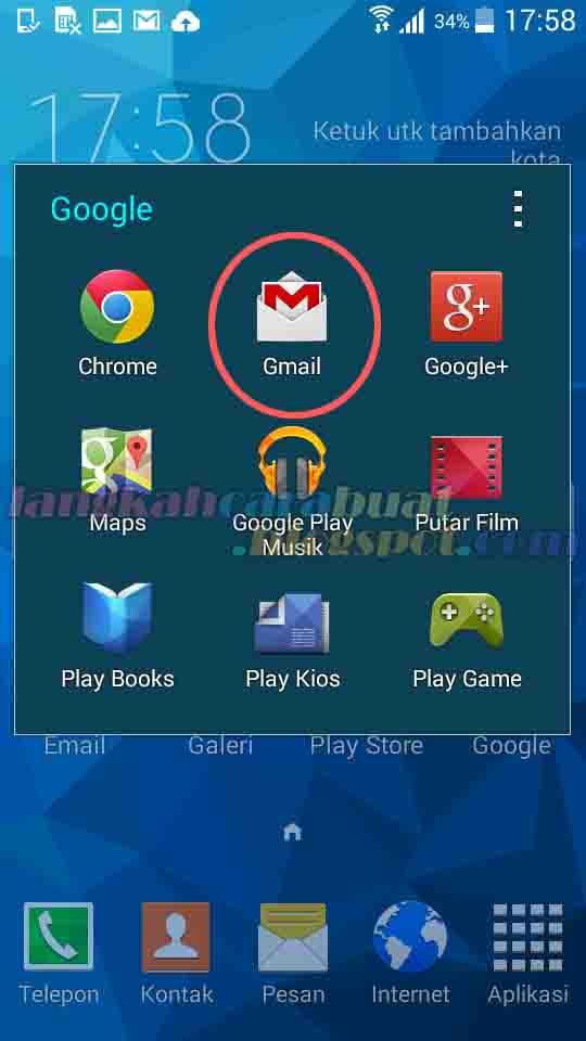 Cara Daftar Email Baru Di Gmail Dan Yahoo Lewat Hp Android Lengkap Contoh Gambarnya Langkah Cara Buat
