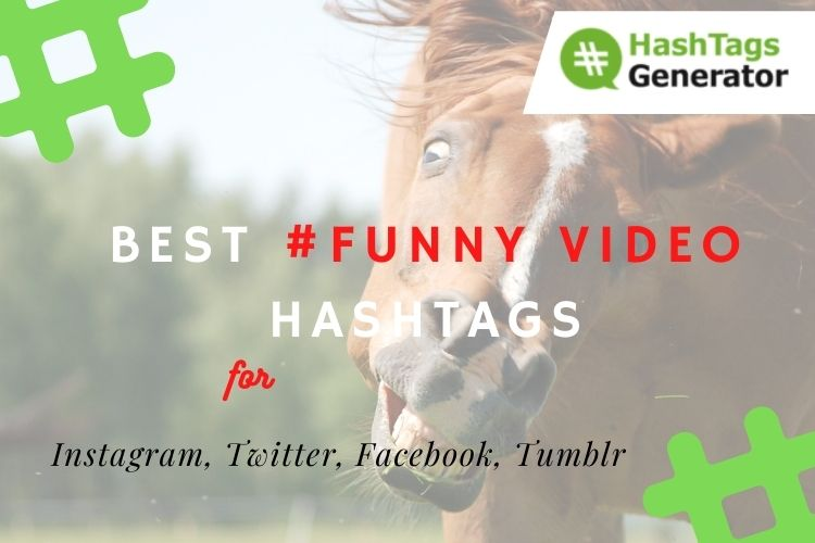 Best Hashtags for Funny Videos