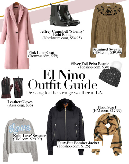 Outfit Guide for El Nino (Or Just Cold Weather)