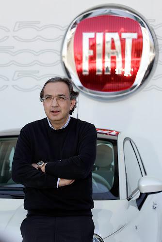 Sergio Marchionne and Fiat 500