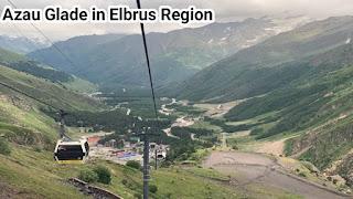 Azau Glade in Elbrus Region