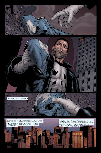 Punisher picks the mask of Captain America