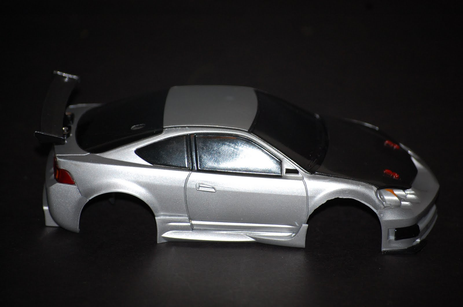 Southern Comfort Rc Garage: Acura RSX-Silver/black