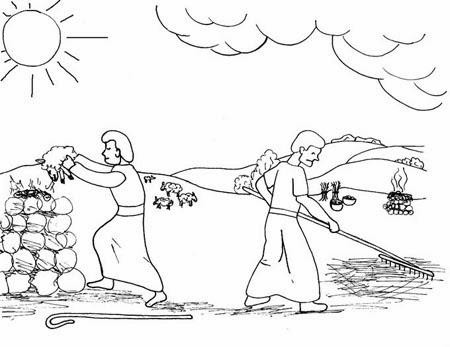El Renuevo De Jehova: Cain y Abel - Imagenes para colorear ...