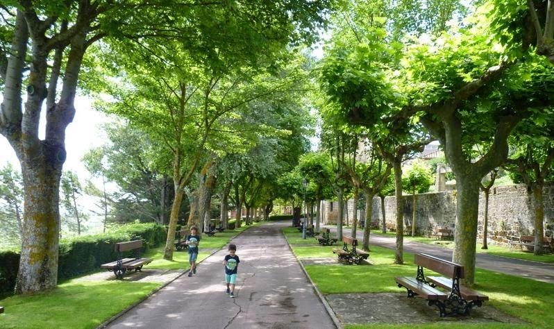 Paseo del Collado, Laguardia.