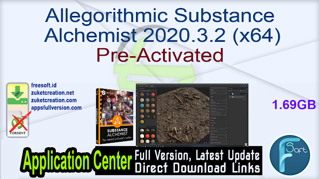 Allegorithmic Substance Alchemist 2020.3.2 (x64) Pre-Activated