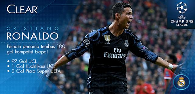 Pemain Pertama Capai 100 Goals Liga Champions dan Rekor Baru Ronaldo