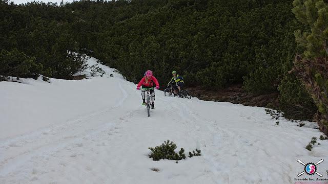 Mountainbike Touren im Schnee mtb