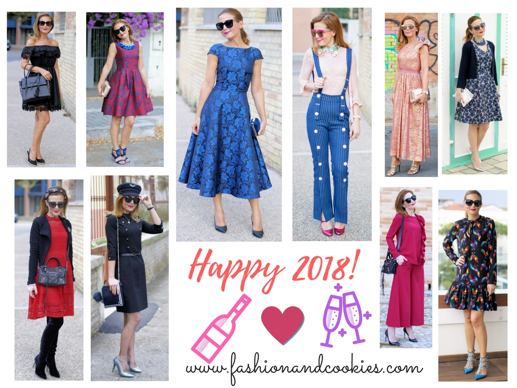 Welcome 2018, ten elegant outfits on Fashion and Cookies fashion blog, fashion blogger style