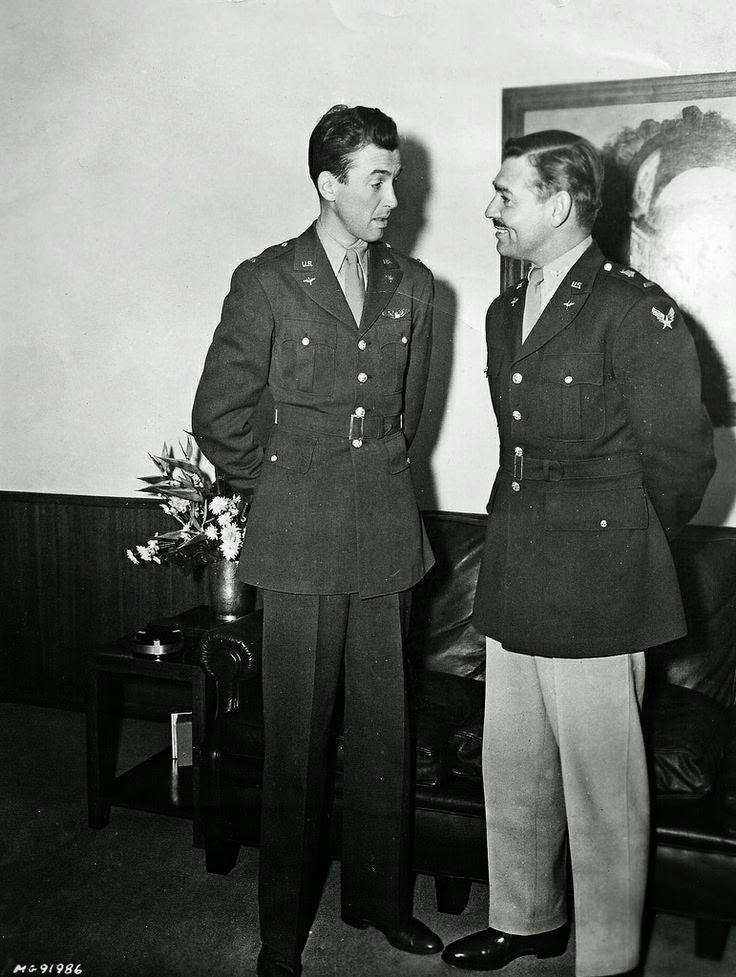 Clark Gable Jimmy Stewart worldwartwo.filminspector.com