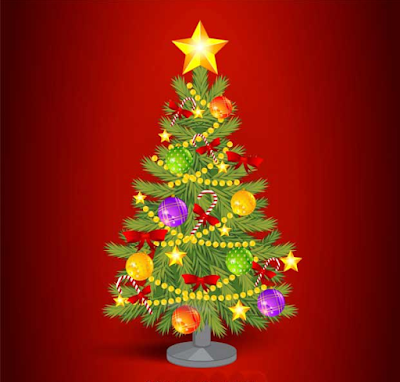 Christmas Tree Coloring Images