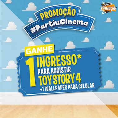 Ganhe um Ingresso para o filme Toy Story 4 - Promoção Partiu Cinema