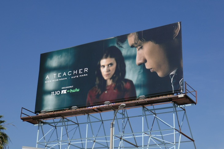 A Teacher series launch billboard