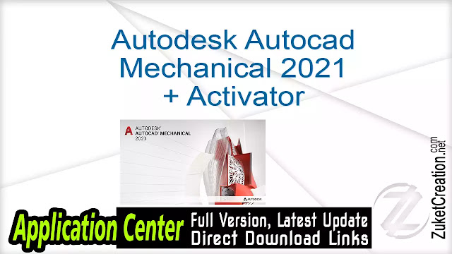 Autodesk Autocad Mechanical 2021 + Activator
