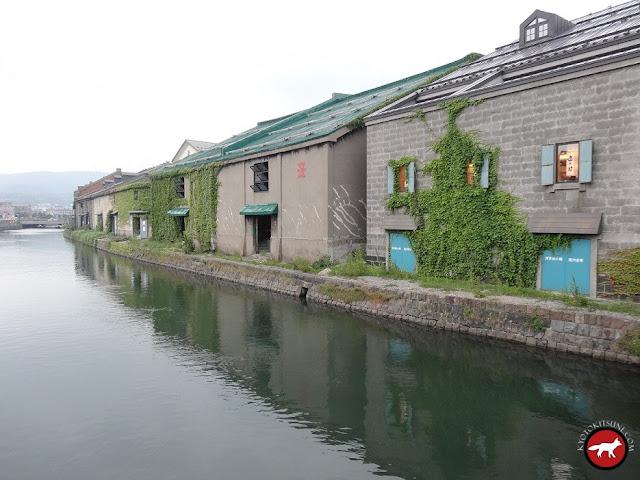 Canaux de Otaru à Hokkaido