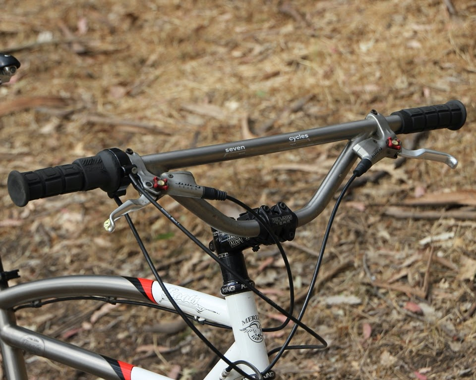 The Monkey Lab: Merlin Roots Mountain Bike with Rohloff SPEEDHUB