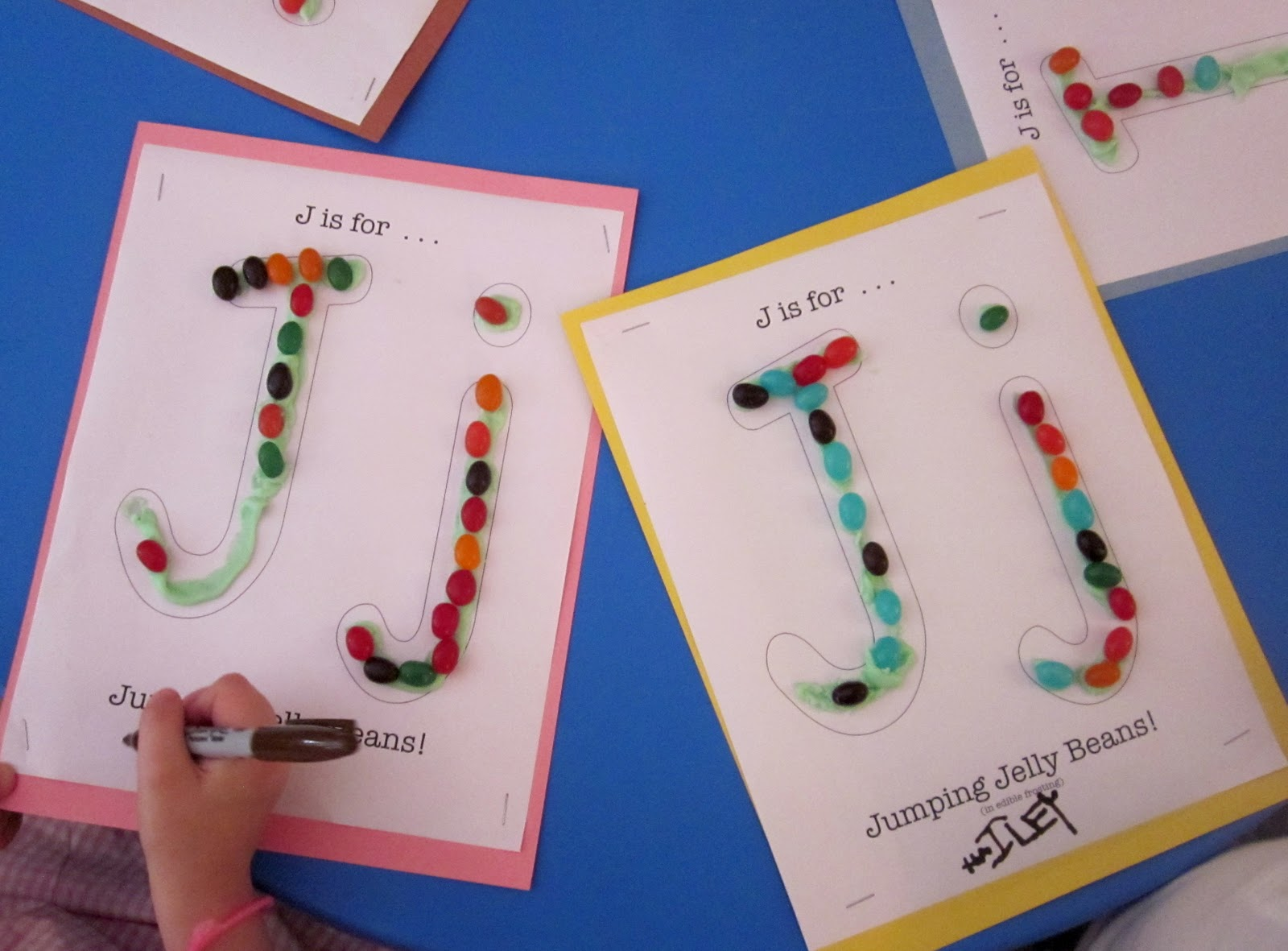 Imagination Express Preschool J Is For Jumping Jelly Beans