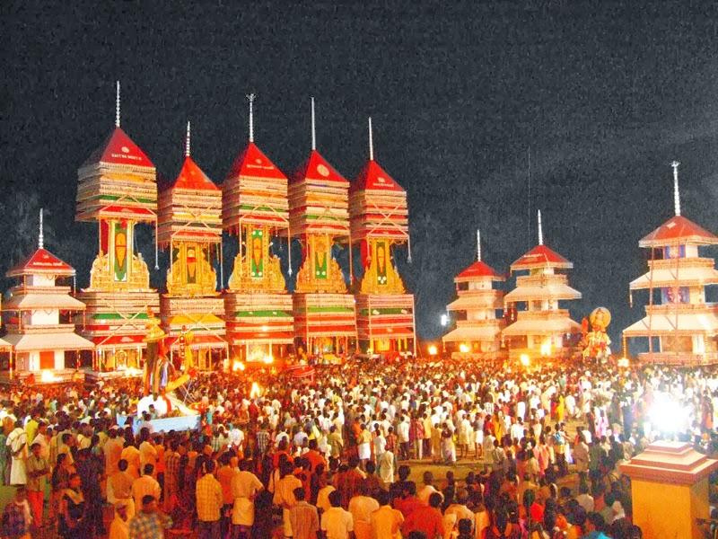 Chettikulangara Temple Kumbha Bharani Festival