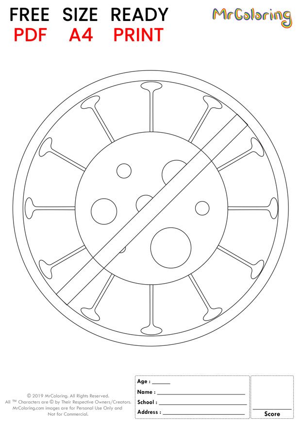 printable stop corona virus coloring pages 1