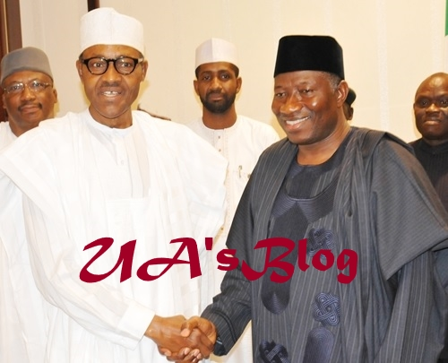 BREAKING: Buhari And Jonathan In Closed-Door Meeting