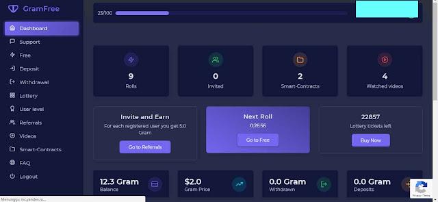 web gram free hasilkan dolar