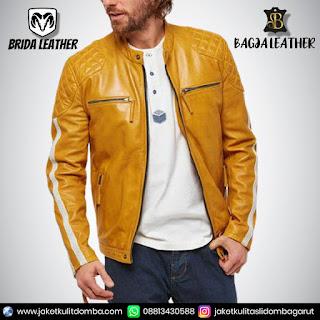 penjual jaket kulit