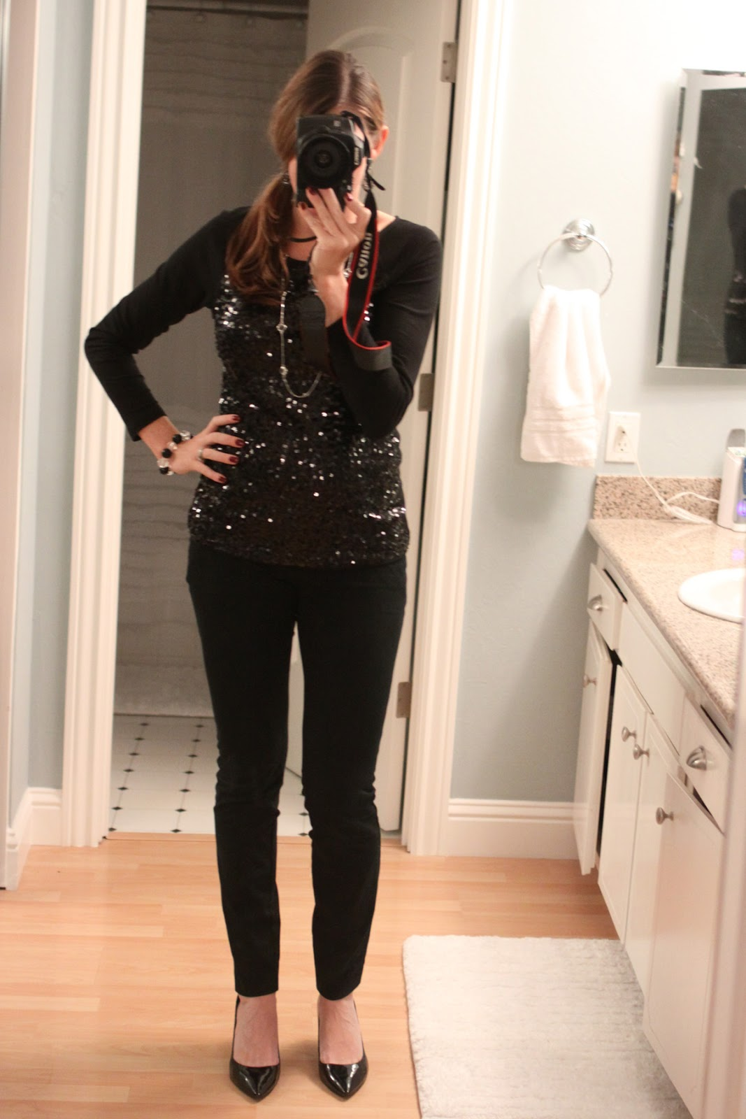 The Larson Lingo: What I Wore Wednesday {Christmas Party ...