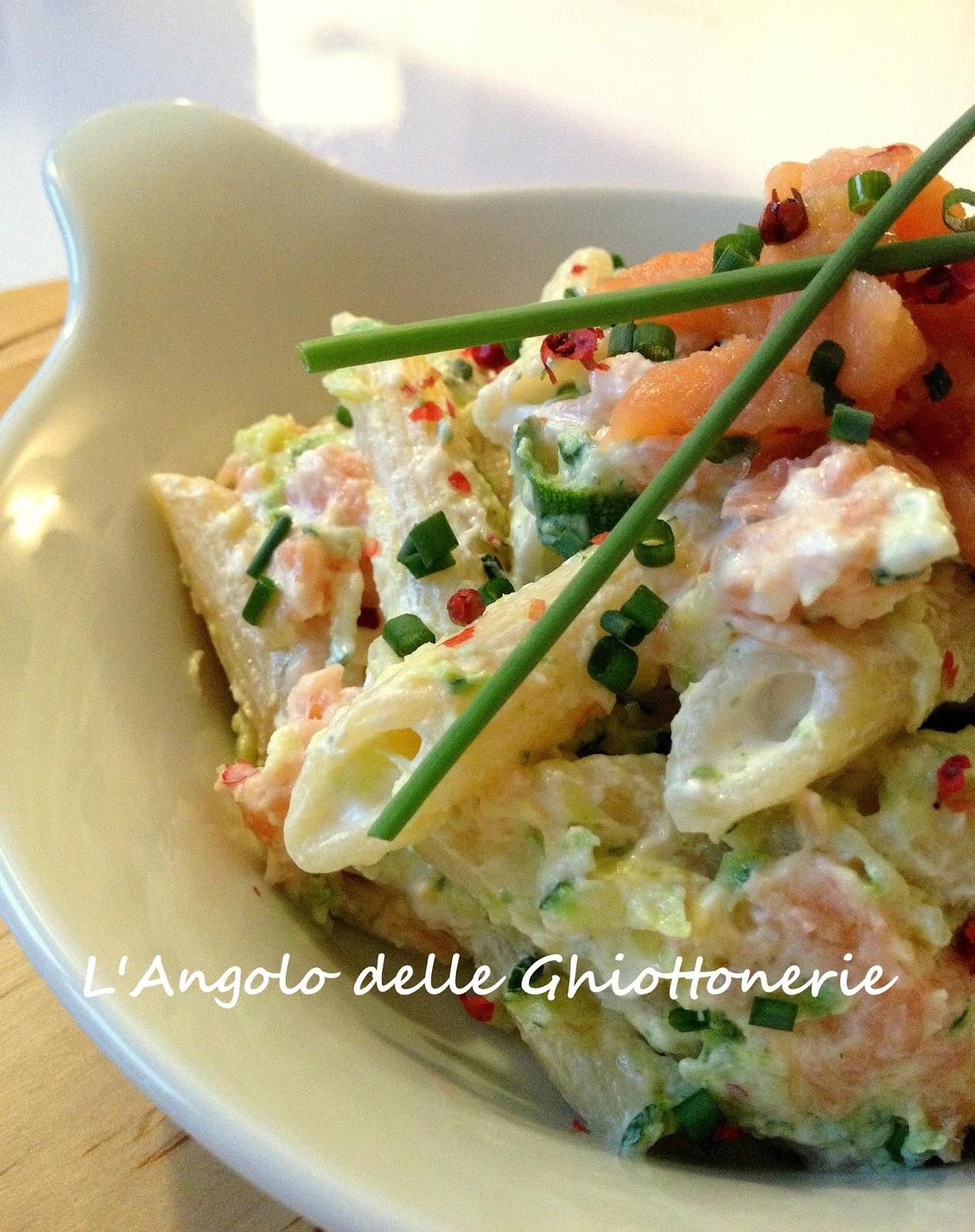 Preferenza L'Angolo delle Ghiottonerie: Insalata di pasta con yogurt greco  RH52