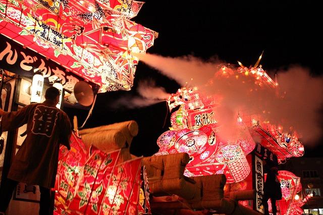 Yotaka Andon Matsuri (lantern light parade), Numata Town, Hokkaido