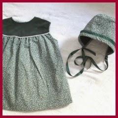 Vestido con capota