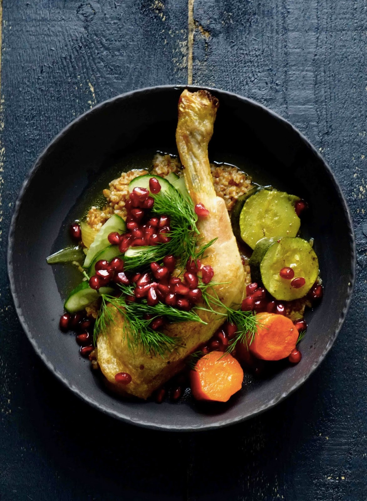 recette facile , recette rapide , cuisine au four , poulet , légumes , cumin