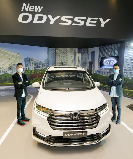 Harga New Honda Odyssey Surabaya