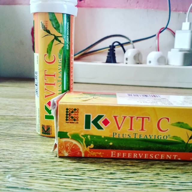 K-Vit C Plus Teavigo multivitamin