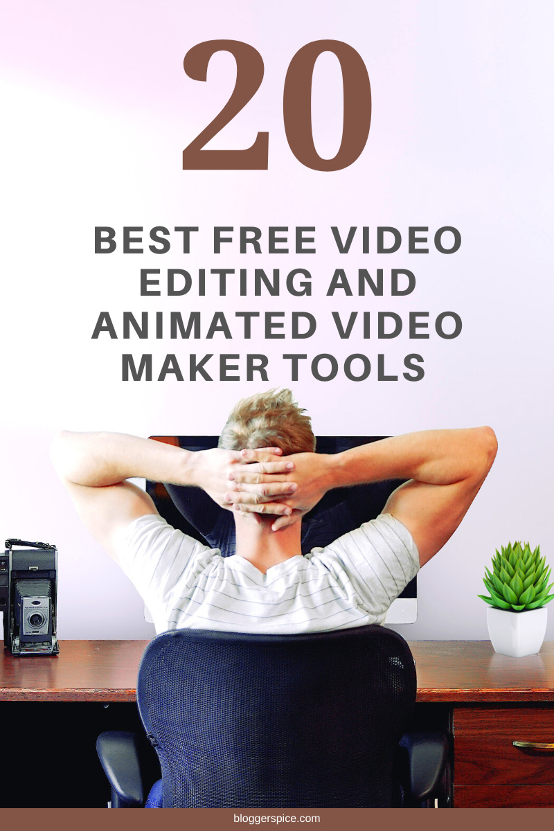 Create Your Own Videos for Free with 20 Best Free Online Video Maker and Editor with music effects and no watermark.