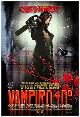 "Poster do filme ""Vampiro 40º"""
